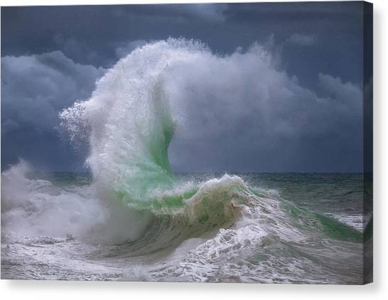 Rough Sea 4 Canvas Print