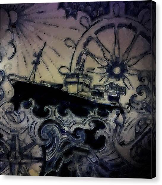 Canvas Print - Rough Seas by Modern Art