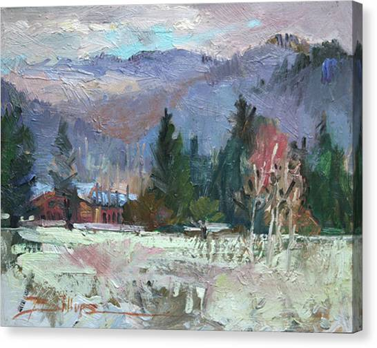 Rough Winter  Canvas Print
