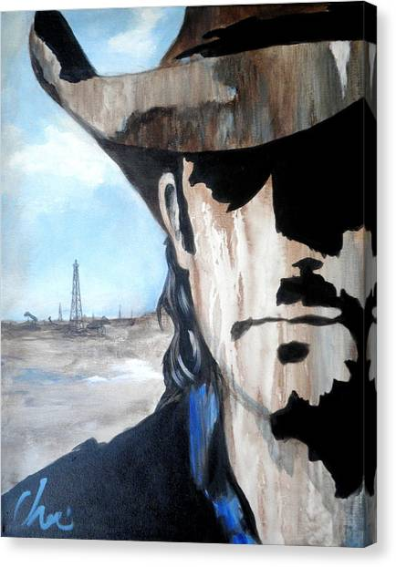 Roughneck Canvas Print