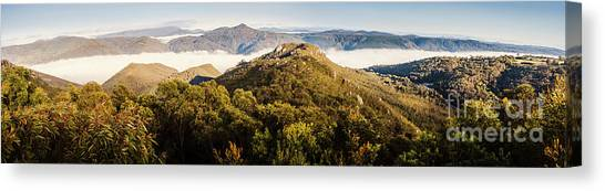 Geology Canvas Print - Round Mountain Lookout by Jorgo Photography - Wall Art Gallery