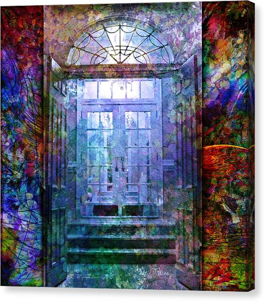 Rounded Doors Canvas Print