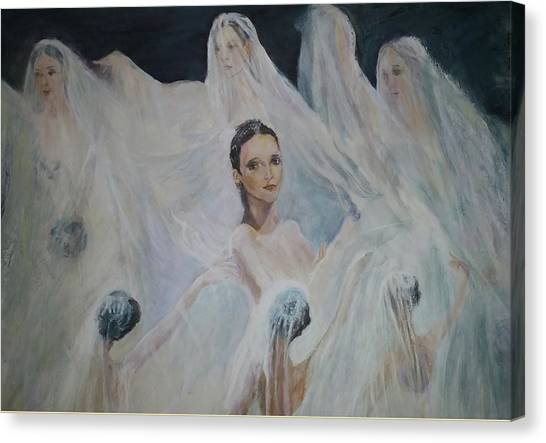 Roundelay. Ballet Dancers Canvas Print