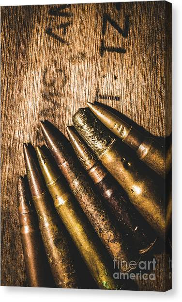 Equipment Canvas Print - Rounds Of Historic Battle by Jorgo Photography - Wall Art Gallery