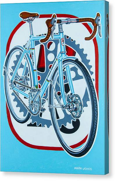 Rourke Bicycle Canvas Print