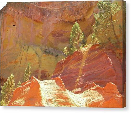 Roussillon Colours Canvas Print