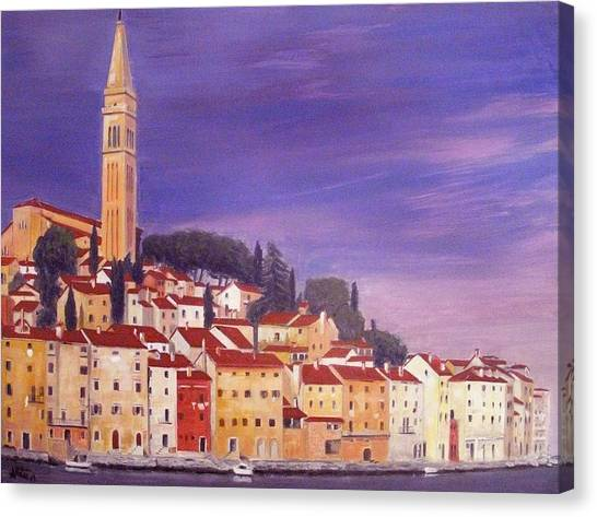 Rovinj Canvas Print by Anthony Meton