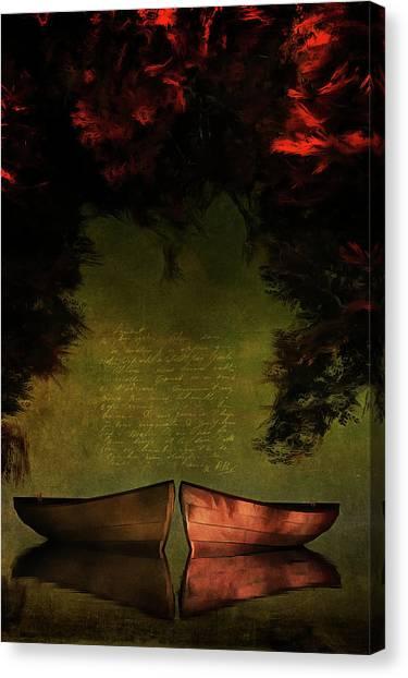 Row Boats Canvas Print