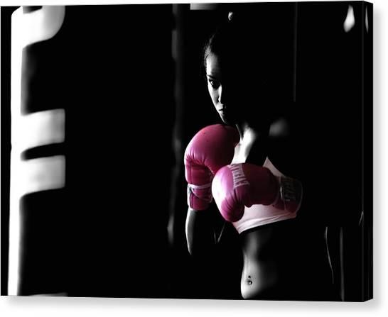 Ric Flair Canvas Print - Rowdy Ronda Rousey by Brian Reaves