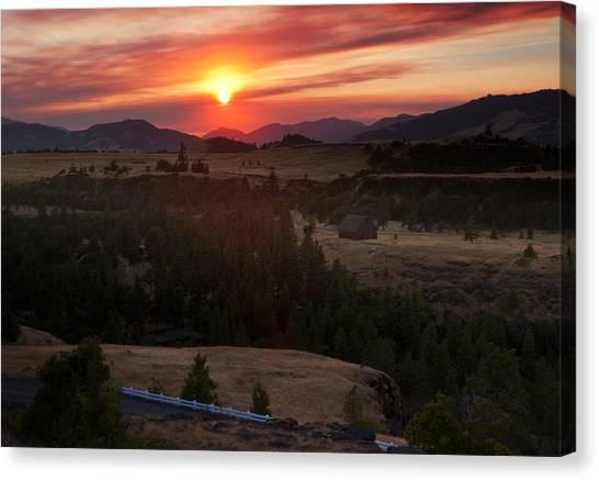 Rowena Sunset Canvas Print
