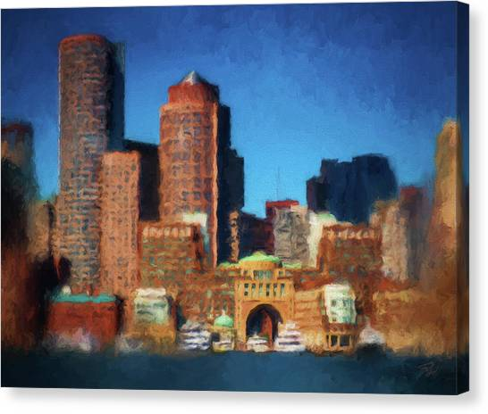 Rowes Wharf Boston Canvas Print
