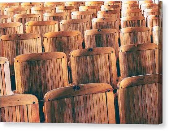 Classroom Canvas Print - Rows Of Seats by Todd Klassy