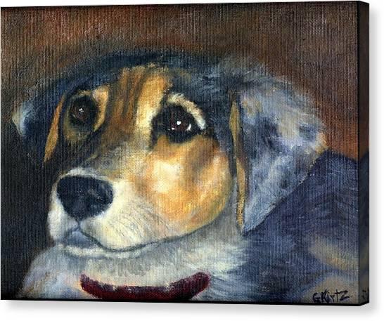 Roxie Canvas Print