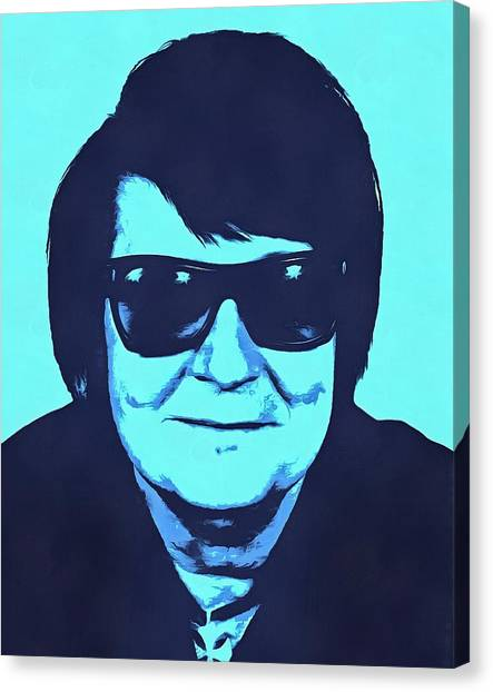 Tom Petty Canvas Print - Roy Orbison by Dan Sproul