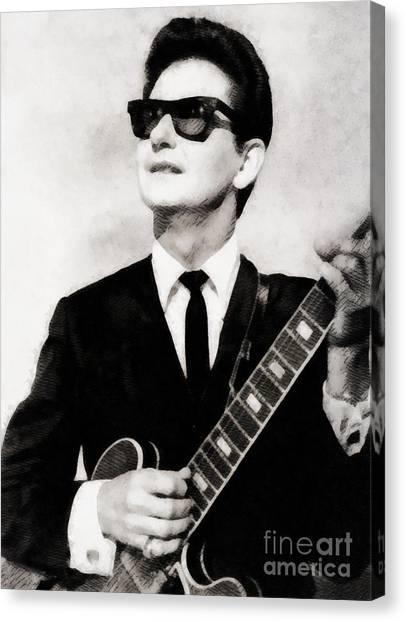 Stardom Canvas Print - Roy Orbison, Legend by John Springfield