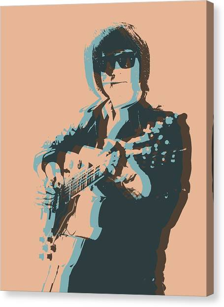 Tom Petty Canvas Print - Roy Orbison Pop by Dan Sproul