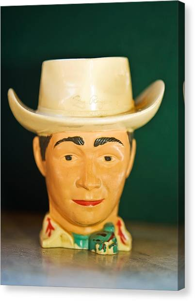 Roy Rogers Cup Canvas Print