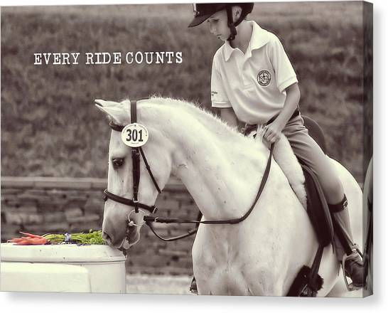 Royal Ascot Quote Canvas Print