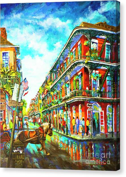 Royal Carriage - New Orleans French Quarter Canvas Print