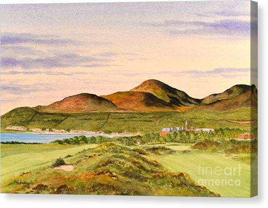 Royal County Down Golf Course Canvas Print