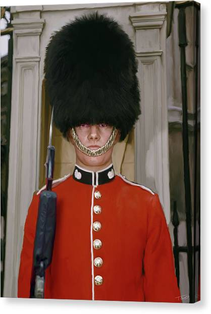 Royal Guard Canvas Print - Royal Guard by Paul Tagliamonte