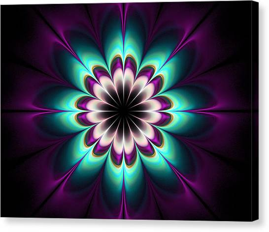 Royal Purple Canvas Print