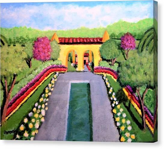 Royal Shrine Canvas Print