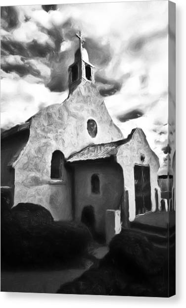 Rt 4 Church Canvas Print