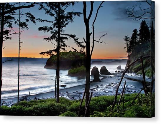 Ruby Beach #2 Canvas Print