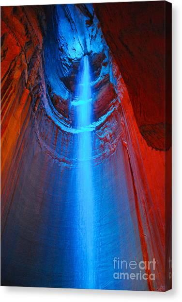 Ruby Falls Waterfall 3 Canvas Print
