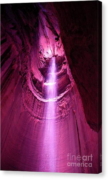 Ruby Falls Waterfall 5 Canvas Print