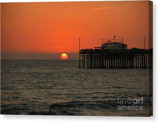 Ruby's Sunset Canvas Print
