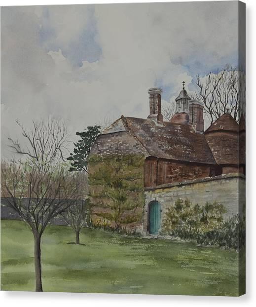 Rudyard Kipling's Bateman's Canvas Print by Debbie Homewood