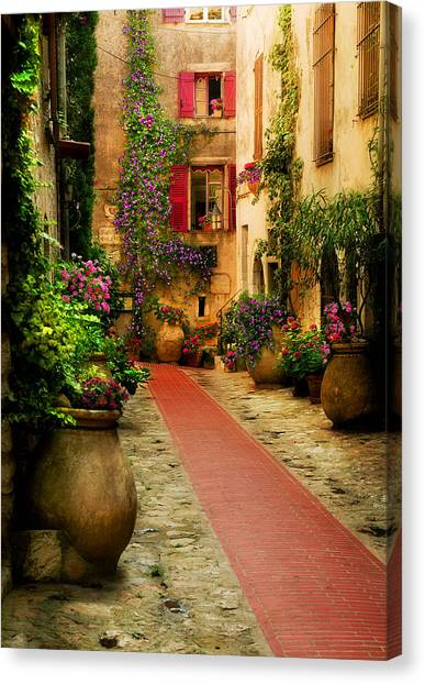 Rue Phillippe Canvas Print