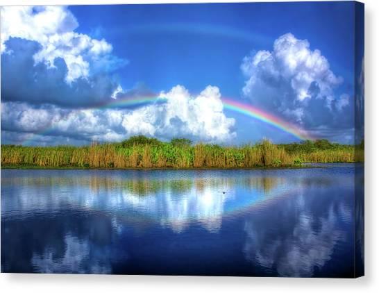 Dachshunds Canvas Print - Rue's Rainbow by Mark Andrew Thomas