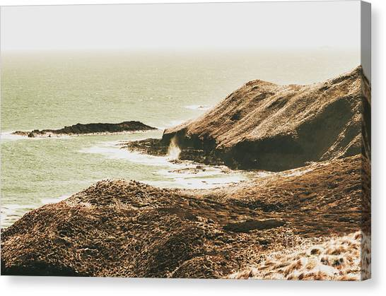 North Shore Canvas Print - Rugged Rocky Cape by Jorgo Photography - Wall Art Gallery