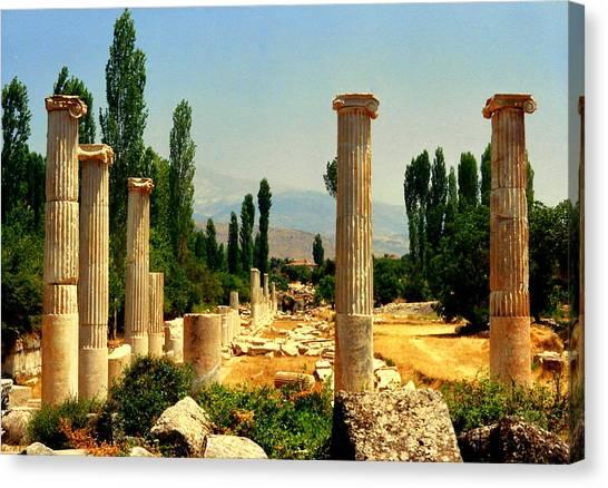 Ruins Of  Aphrodisias Canvas Print