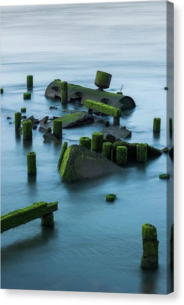 Ruins Of The Day Canvas Print