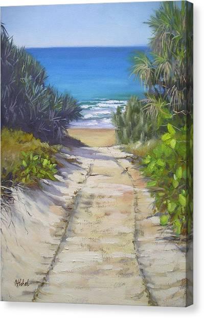 Rules Beach Queensland Australia Canvas Print