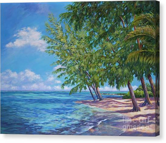 Rum Canvas Print - Rum Point by John Clark