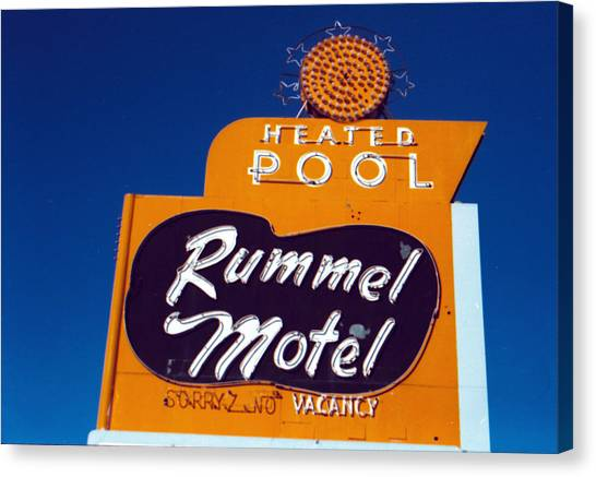 Rummel Motel Canvas Print