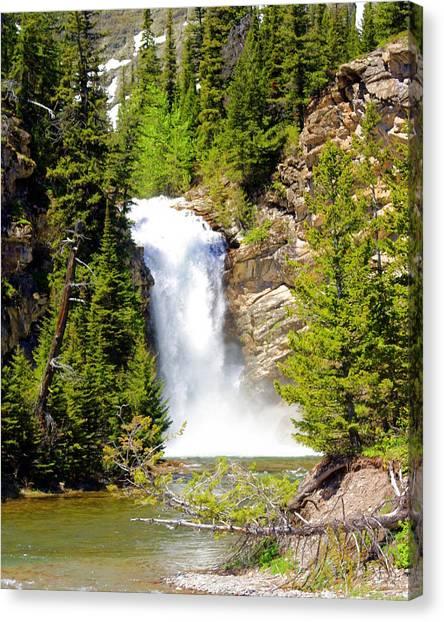 Running Eagle Falls Canvas Print