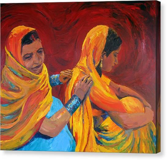 Ruppa Canvas Print by Art Nomad Sandra  Hansen