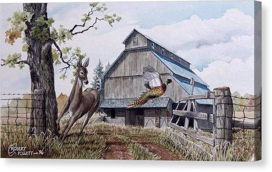 Rural Flush Canvas Print
