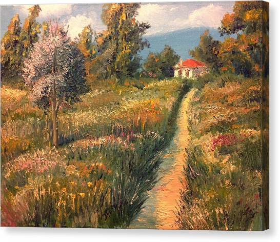 Rural Idyll Canvas Print