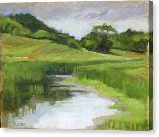 Canvas Print - Rural Marsh by Kim Gordon