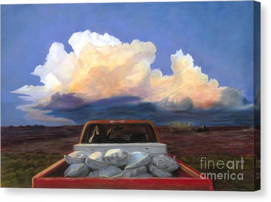 Storms Canvas Print - Rush by Christian Vandehaar
