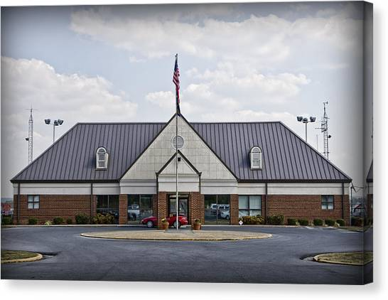 Russell Regional Airport Canvas Print