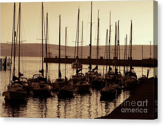 Russet Harbour Canvas Print