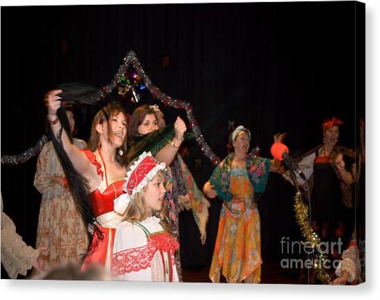 Russian Choir Performing Canvas Print